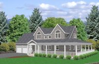 Cape Cod Style House Plans | 2027 sq/ft 3 bedroom Cape Cod ...