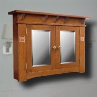 craftsman style medicine cabinets   ... cabinet cabinetry ...
