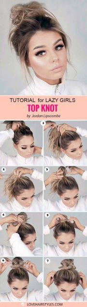 7 perfectly easy hairstyles