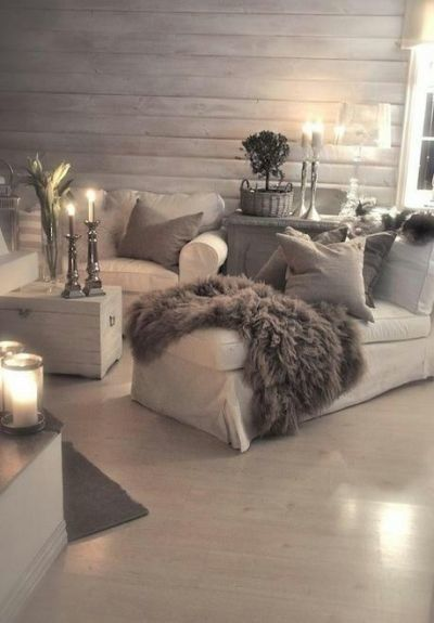 Grises Neutros= Calidez #decoracion #salon #livingroom