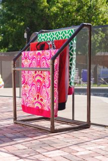 Pvc Towel Drying Rack Ideas