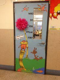 Lorax Elementary Library Door (2013) | Read across America ...