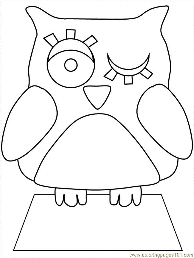 stencils and templates owls. Discussion on LiveInternet