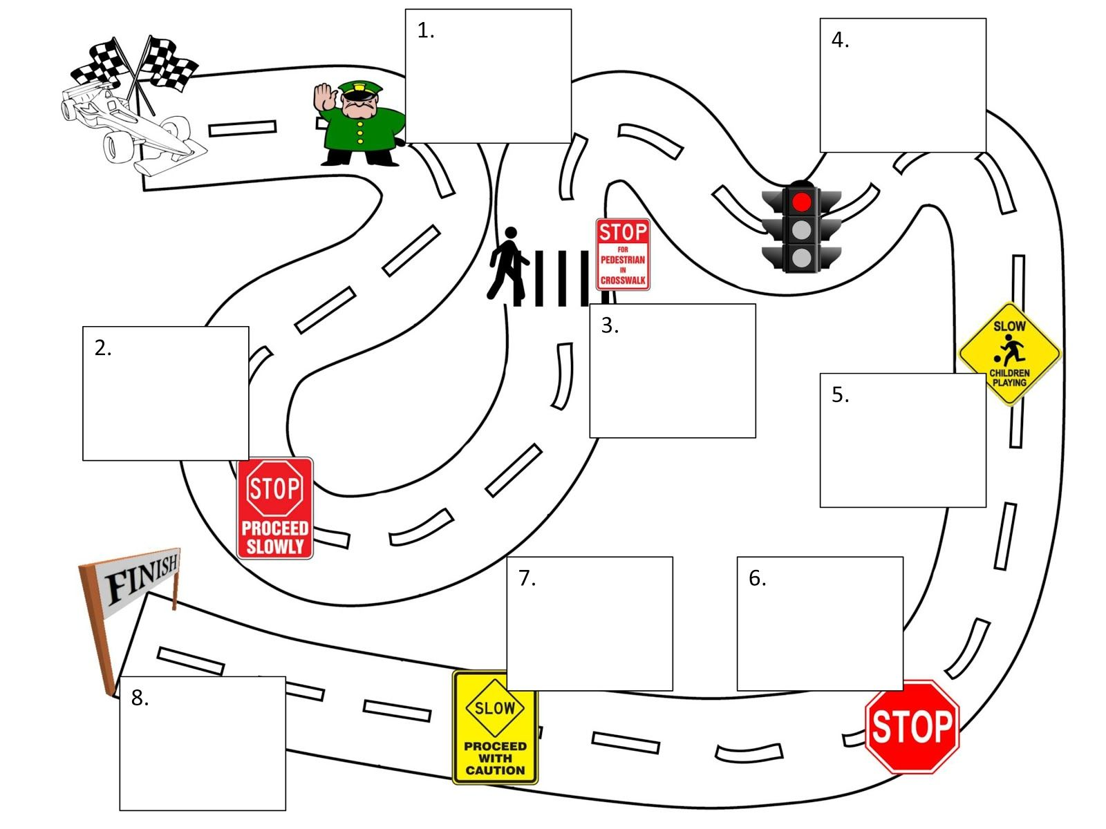 Free Reading Road Map Printable Customizable And Easy To