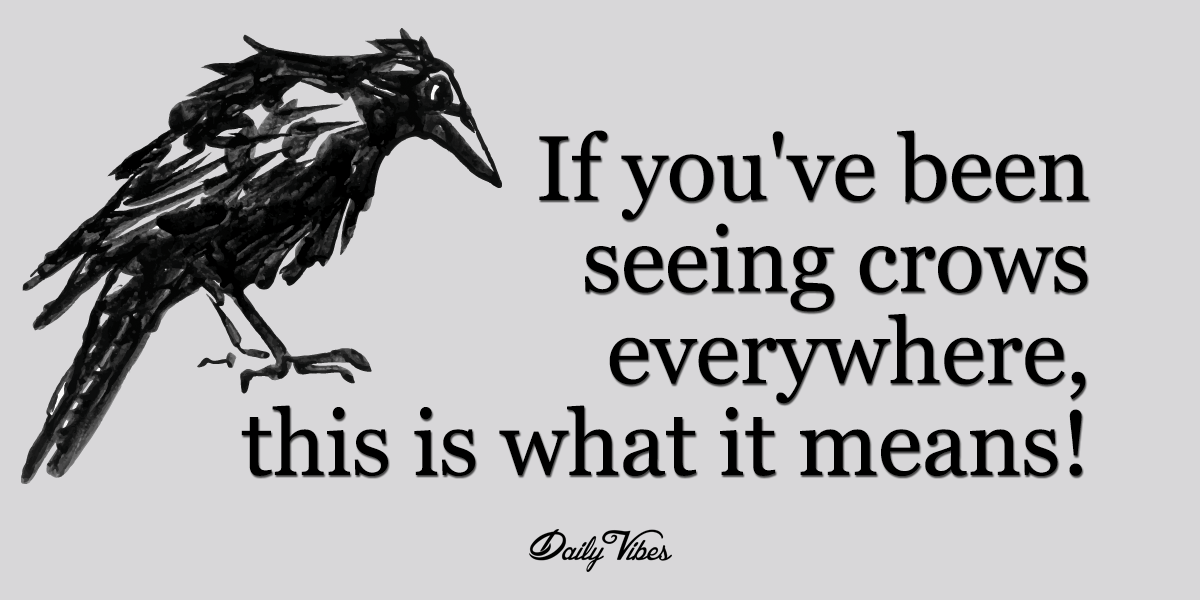 Crows are incredibly intelligent creatures. In fact, their