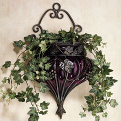 Grape Decor For Kitchen Rustic Outdoor Vase Wall Accent Dining Rooms Dark Brown And Baskets