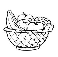 Fruit Bowl Drawing Outline   www.pixshark.com - Images ...