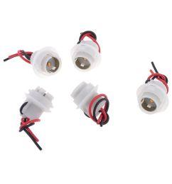 unique bargains vehicle car 2 wire 1156 turn signal light socket harness [ 1100 x 1100 Pixel ]