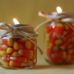 Counter Top Kitchen Table Sets Best Knobs 25+ Candy Corn Decor Ideas On Pinterest | Fall Wood ...