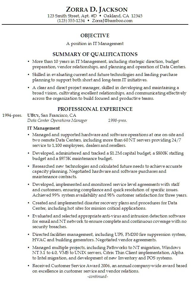 Summary Resume Template Resume Sample Summary Resume Samples  Sample Summary For Resume