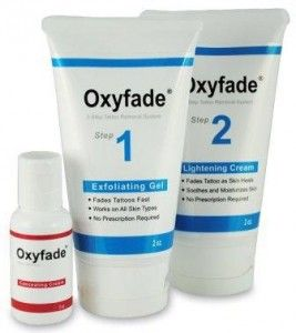 Oxyfade Kit Tattoo Cream Removal, Perfect Tattoo Removal ...