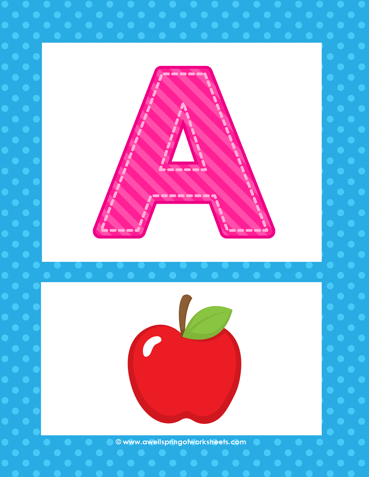 Alphabet Posters Uppercase Letters