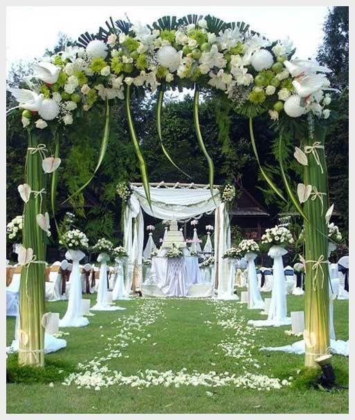 Cheap Garden Wedding Ideas