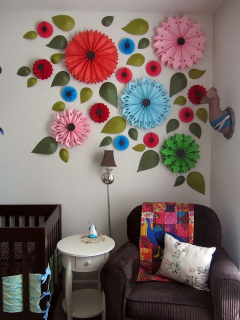wall flower decor my