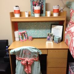Dorm Chair Covers Etsy Hanging Teenager Pinterest Makeitmadidorm Desk And Monogram Cover