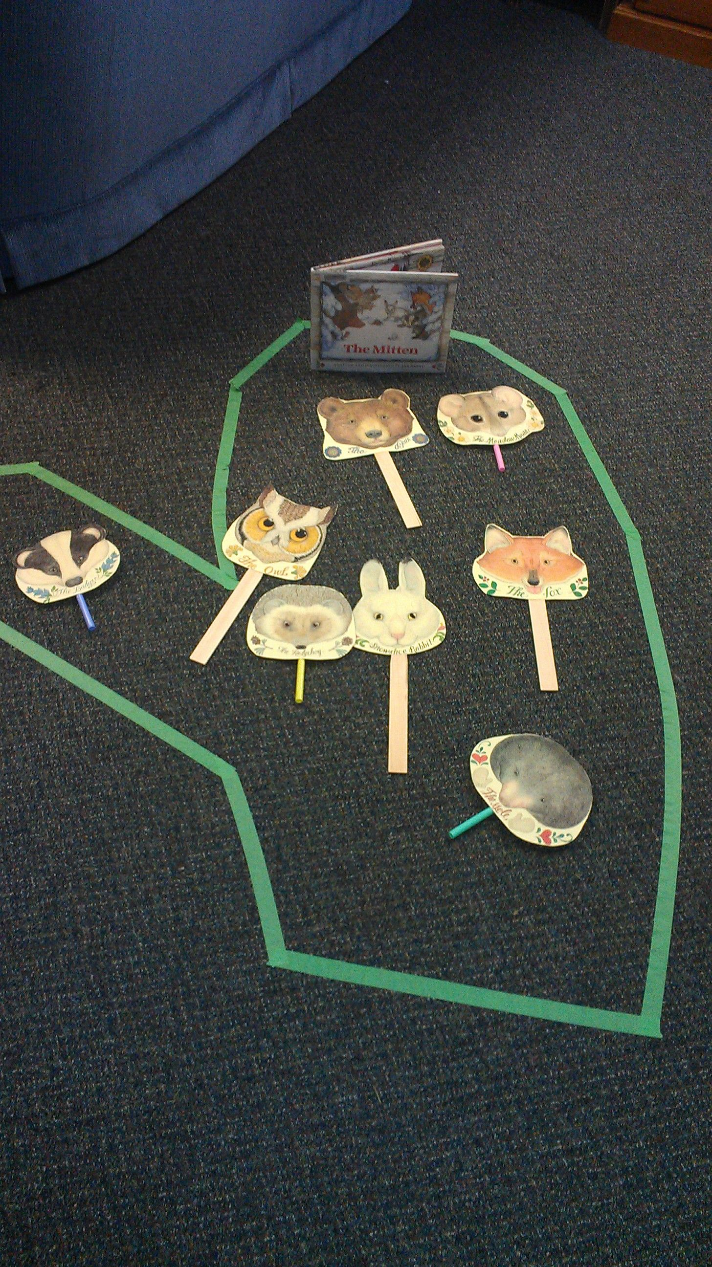 The Mitten Activities Janbrett Mitten Masks Main