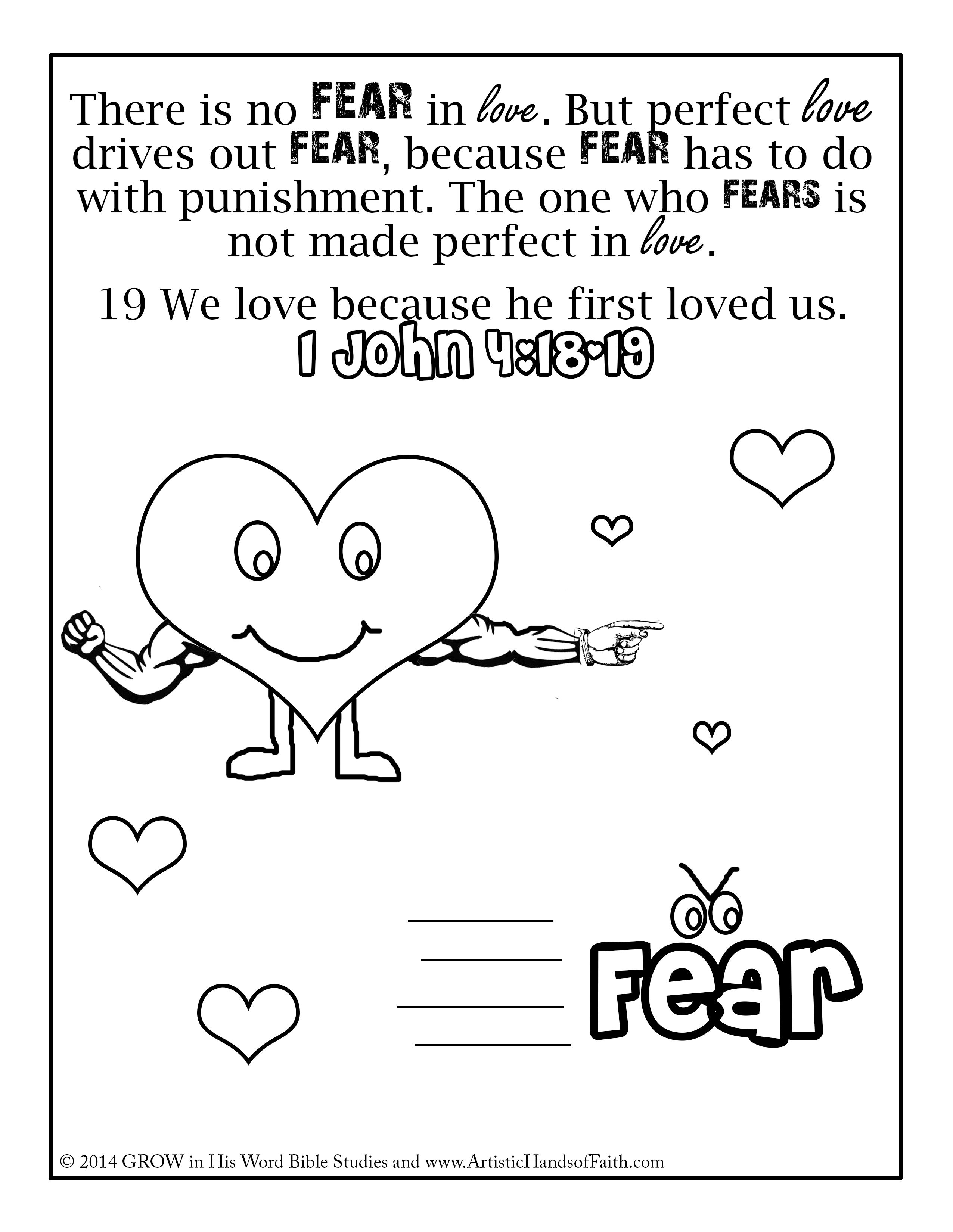 Worksheet Women Fear