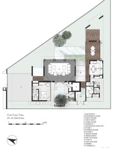 Inspiration the merlimau house design by aamer architects architecturing pictures villa planonline also rh pinterest