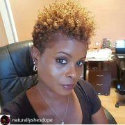 tapered cut flat twist hairstylesshort