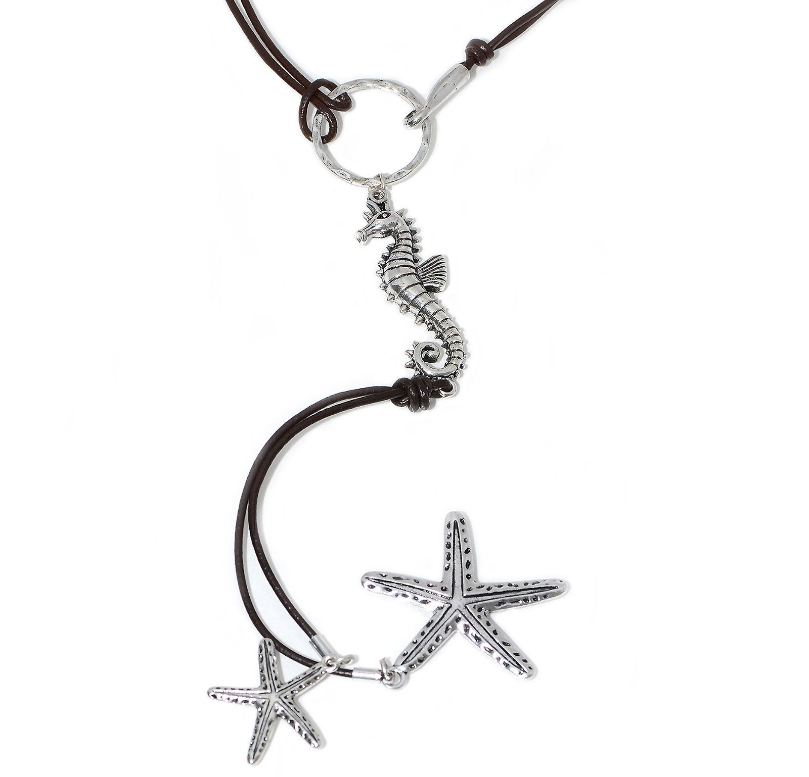 Dreaming On The Sea Sea Horse And Dangling Starfish