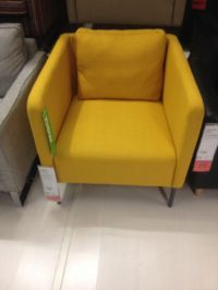 New ikea chair: love the mustard yellow and shape | house ...