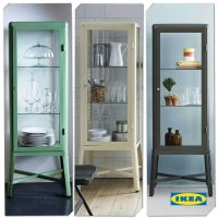 Ikea cabinet--cheaper than a vintage medical cabinet to ...