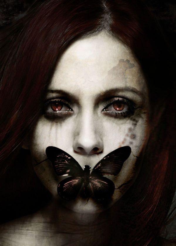 Halloween Makeup Make . Dark Fantasy
