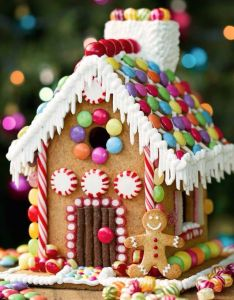 Gingerbread house ideas decorating links to templates and recipe making houses is one of our also ultimate noel idee pinterest rh