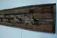 Barn Wood Coat Rack Rustic Barn Wood Coat Rack by ...