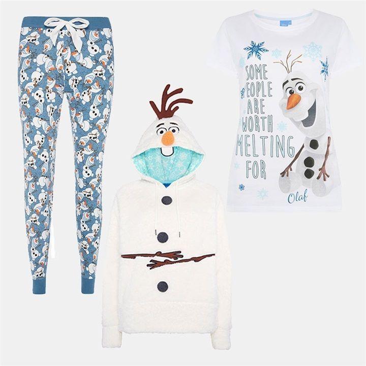 Frozen Olaf Pj Girls