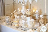 White Candy Buffet | Time for the Holidays www ...
