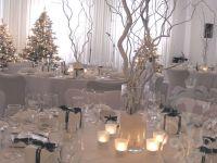 winter wonderland wedding centerpieces   Centrepiece ...