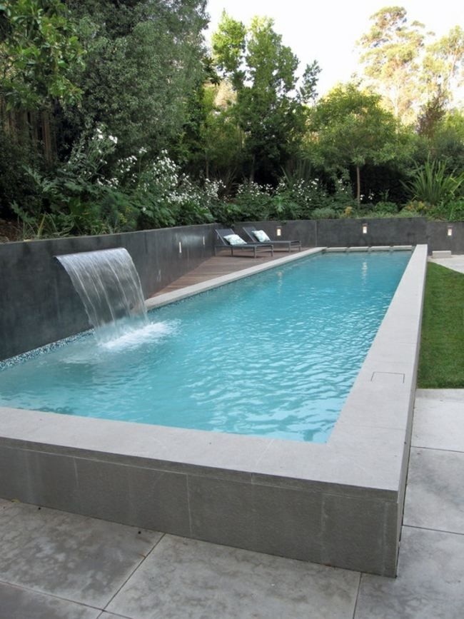 Pool Garten Freistehend Spezifische Form Wasserspiele