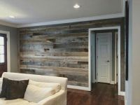 This wall turned out to be so beautiful! We installed our ...