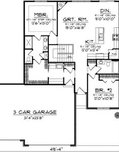One level home with hip roof ah st floor master suite butler walk also plan pantry ranch and bedrooms rh pinterest