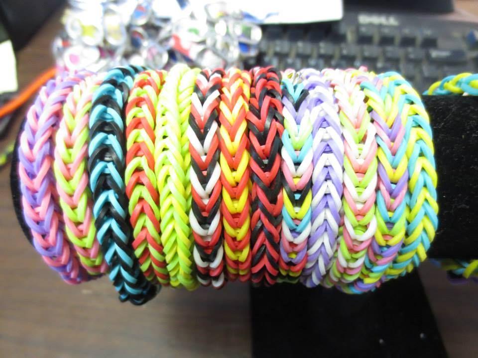 Rainbow Loom Bracelets Fish Tail Teen Programs West