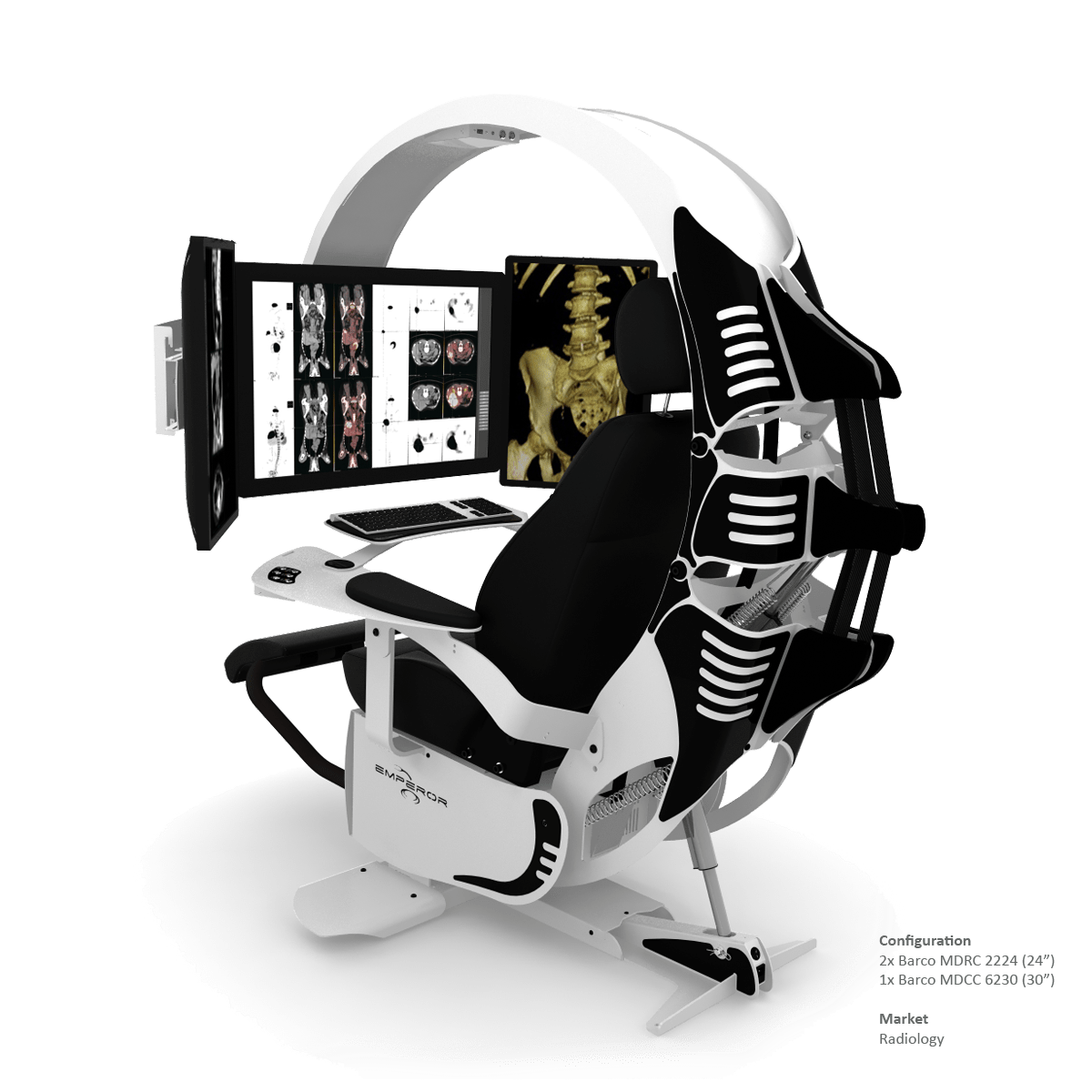 ergonomic mesh chair from emperor lounge cushions target this is the ultimate in computer workstations