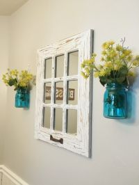 Express Yourself! My Rustic Farmhouse Style | Window pane ...