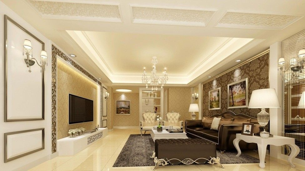 Glamourous Modern French Living Room Design Luxury Classic