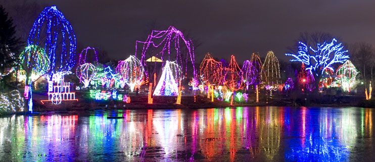 Columbus Zoo Holiday Lights