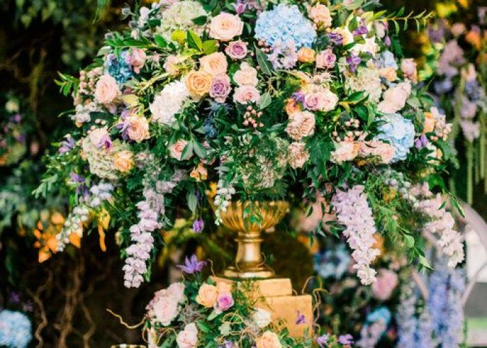 Enchanted garden wedding theme floral inspiration with amie bone flowers themed weddings and also