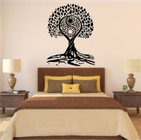 Tree of Life YinYang Style Vinyl Wall Decal by ...