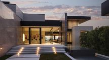 Contemporary Pad Sunset Strip With Spectacular