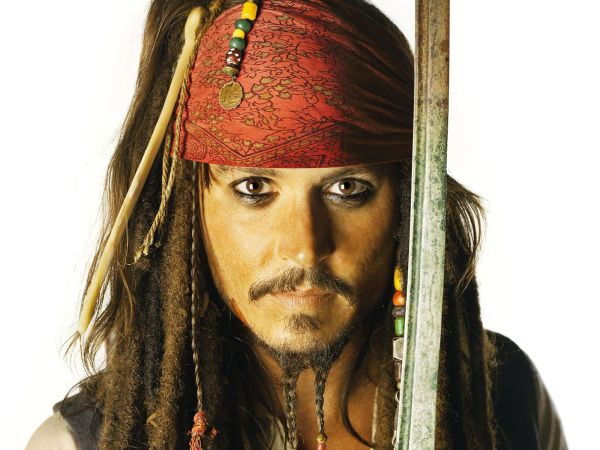Pirate Johnny Depp Pirates Of Caribbean Wallpaper