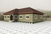 Nigeria Bungalow House Plans Designs