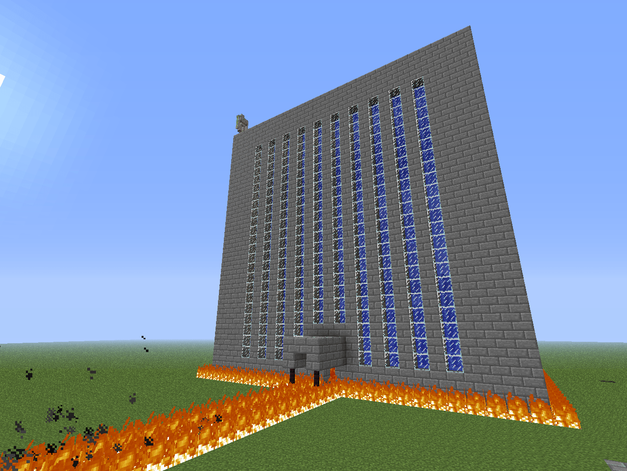 Minecraft Is Huge Zack's Blog Big House Yes That's Really What