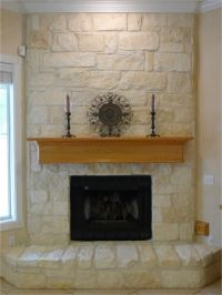 Austin stone fireplace | For the Home | Pinterest | Stone ...