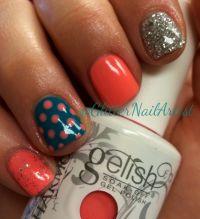 GlitterNailArtist| Bold summer nails -- Gelish: I'm ...