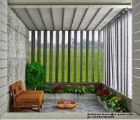 VEEDU DESIGNS: Interior design vertical pergola | outdoor ...