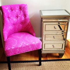 Chairs At Homegoods Wedding Chair Cover Hire Services Cynthia Rowley And Mirrored Side Table From